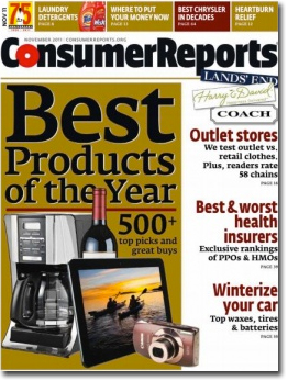 Consumer Reports Bundles iPad Sub with Print Edition - Folio: