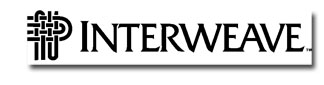 Interweave logo 100 Quilts for Kids Sponsors  Fabric & Thread!