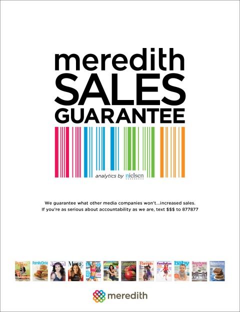 Meredith's Sales Guarantee Program Nearing One Year - Folio: