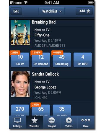TVGuide com Launches Social Television App - Folio:
