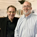 Innovation Leader co-founders Kirsner (left) and Scott Cohen (right).