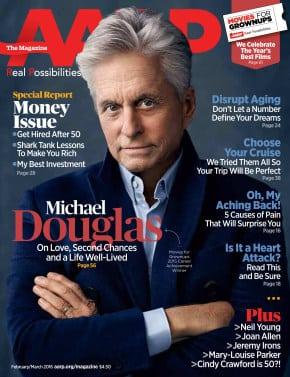 Michael Douglas AARP the Magazine