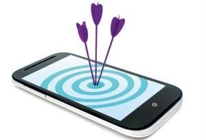Smartphone-target