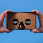 Google Cardboard was distributed to 1 million of The New York Times' print subscribers in November.