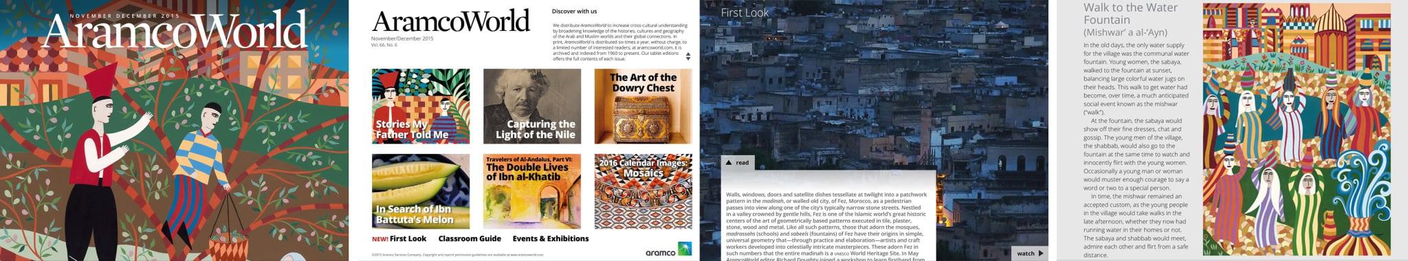 ARAMCO WORLD_Custom_App