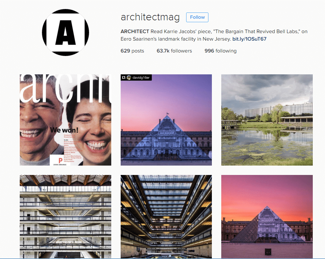 ARCHITECT_B2B_Social Media_Instagram