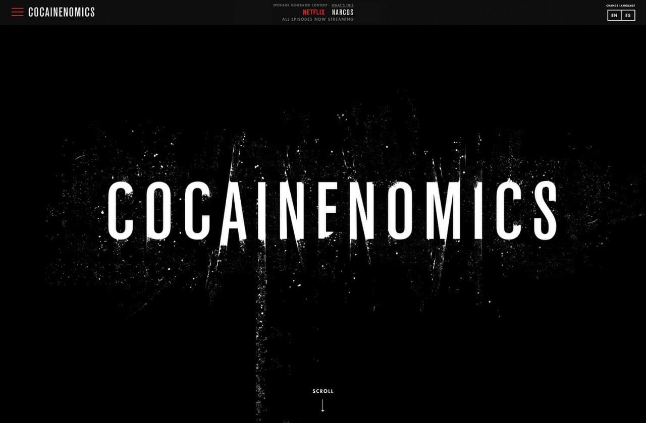 COCAINENOMICS_Custom_Website