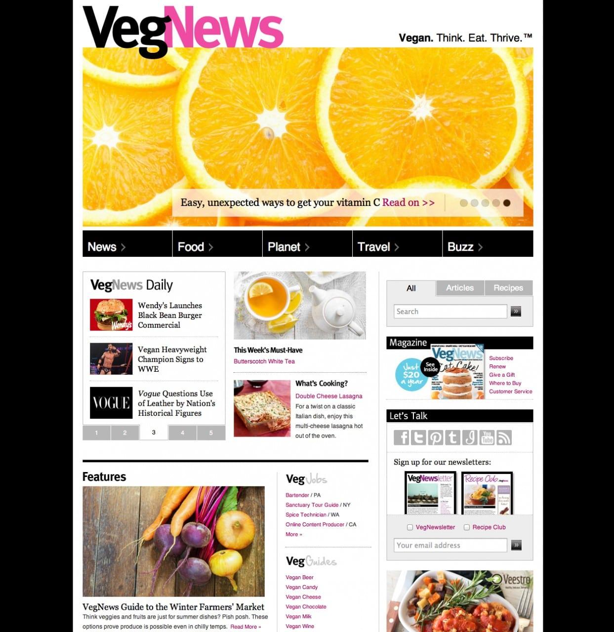 VEGNEWS_Consumer_Website