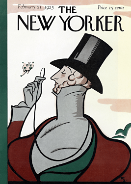 The debut cover, from 1925.