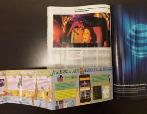 The insert, as seen in the March 6-19 issue of New York.