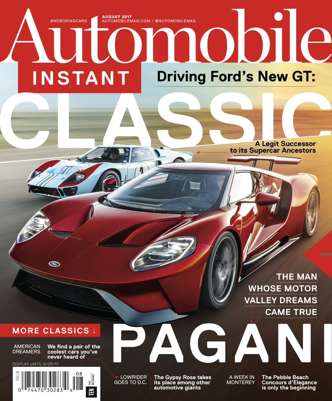 Automobile Reveals New Print Look, Expanded Lifestyle Coverage - Folio: