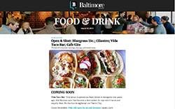 Baltimore Magazine_Newsletter_Eddies Digital_2