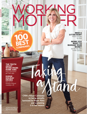 Working Mother Oct/Nov cover