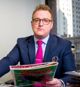 EXCLUSIVE: Dylan Howard Editor in Chief and Vice President of News at Radar Online and the National Enquirer