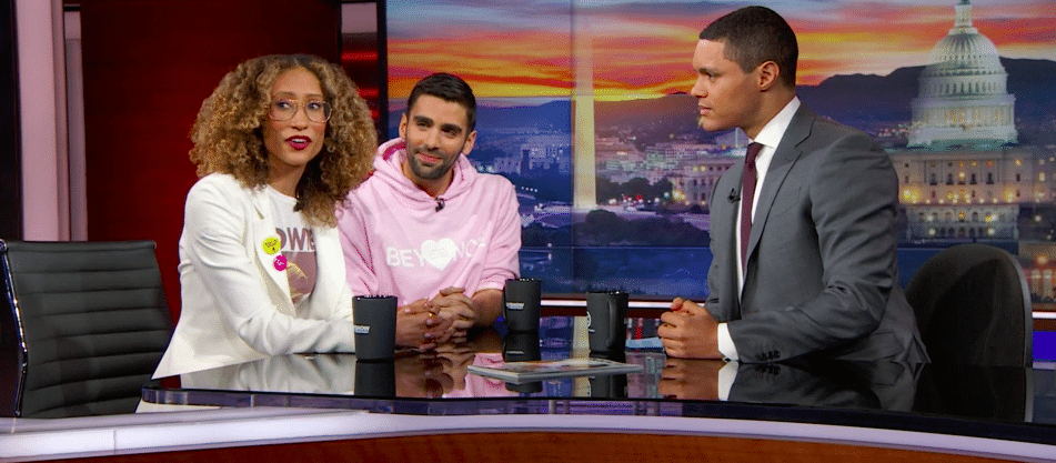"""Welteroth and Picardi on """"The Daily Show"""""""