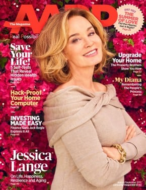 AARP Jessica Lange Cover