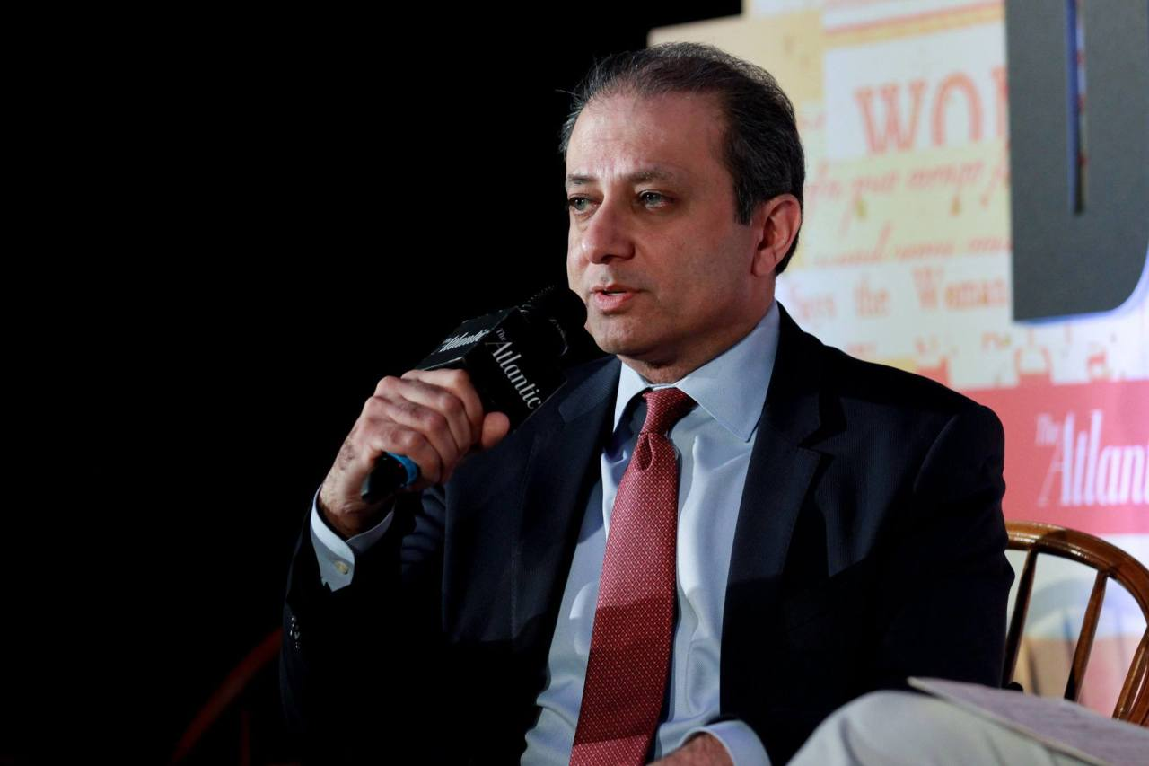 Former U.S. attorney general for the Southern District of New York, Preet Bharara, speaks at a recent AtlanticLIVE panel.