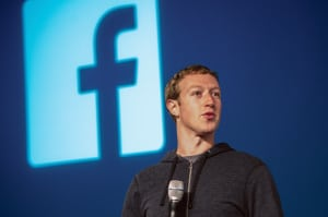 Mark Zuckerberg, CEO and founder of Facebook.