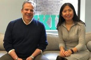 Tom Lowry and Haixia Wang