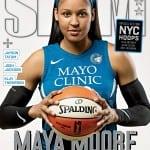 Female covers Slam Magazine