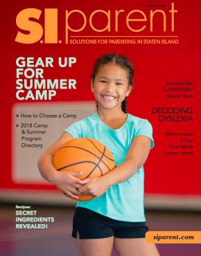 SI Parent magazine cover