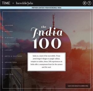 The India 100
