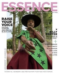 Essence July/August magazine cover